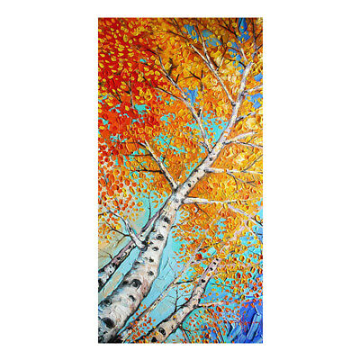 Modern Abstract Scenery Hand-Painted Oil Painting Home Decor Art On Canvas Wall