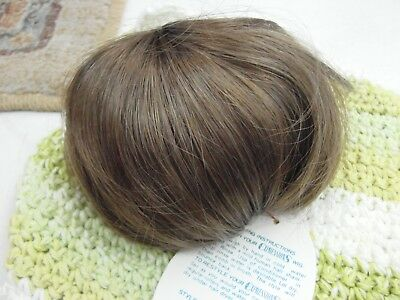 CHYNA Kemper Doll Wig Size 16-17 Color Black Vintage NOS long//bangs//straight