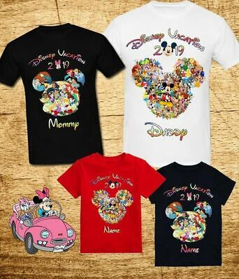 d365481939be DISNEY WORLD 2019 Family Vacation, Funny matching T-Shirts. - $13.50 ...