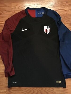 cfd7cceaedf Nike Aeroswift USA Soccer Jersey 2016 Player Issue DTOM Long Sleeve XL USMNT