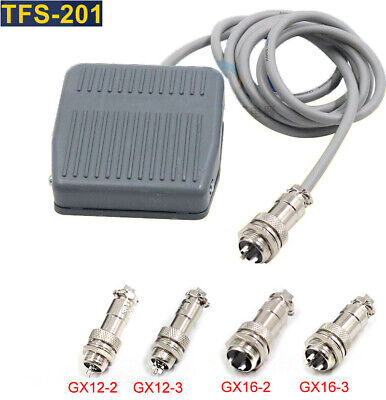 Industrial Square Foot Switch TFS-201 Momentary 380V 5-10A With Aviation Plug