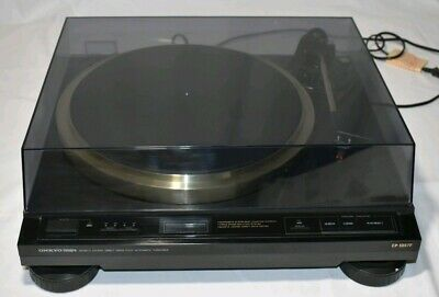 ONKYO INTEGRA drive fully automatic turntable CP-1057F  made in japan 1 owner