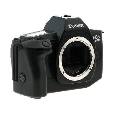 Canon EOS 650 SLR 35mm Camera Body (AS-IS)