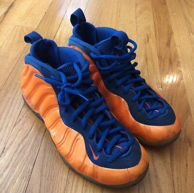 super popular 84432 4e255 Nike Air Foamposite One Total Crimson Orange-Blue Sz 8.5