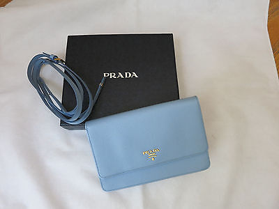 2683b86b8a4cb7 Prada Saffiano Leather Shoulder Bag Pink/Mauve Antico Mordore Gold Chain  Strap.