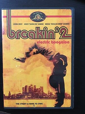 Breakin' 2 - Electric Boogaloo DVD 1984 -Free Fast Same Day Shipping!