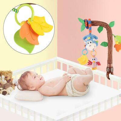 Flexible Clip Animal Rattles Newborn Infant Baby Pram Handbell Bed Stroller Soft