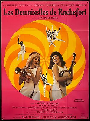 The Young Filles de Rochefort 1967 French 117cmx157cm Catherine Deneuve Jacques