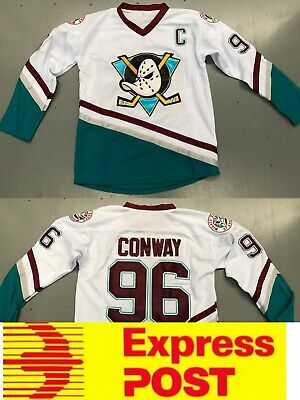 Ice Hockey Anaheim Mighty Ducks Jersey, #96 Conway Jersey