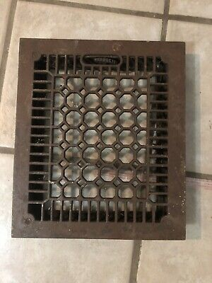 Vintage Original Metal Heat Air Register Wall Floor Grate Vent- Item # 12
