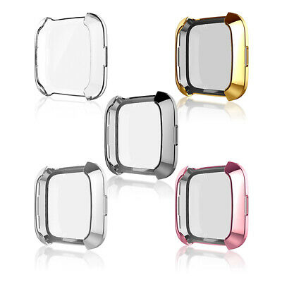 Screen Protector Protective Case Cover For Fitbit Versa Smart Watch Accessories