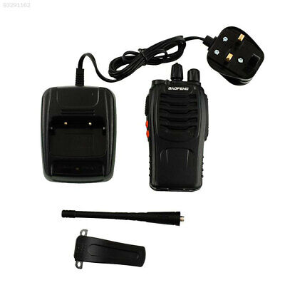 6472 2pcs Walkie Talkie UHF 400-470MHZ 16CH 5W VOX BF-888S Long Range UK Adapter
