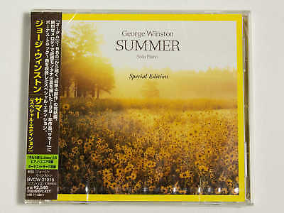 GEORGE WINSTON Summer Special Edition BVCW-31016 JAPAN CD w/OBI 09465