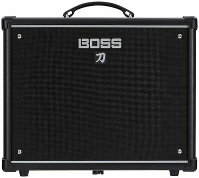 "Boss Katana KTN 50 2-channel 1x12"" Guitar Combo Amplifier with 5 Amp Voicings"