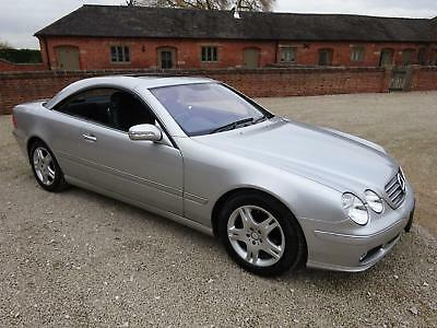 Mercedes Benz Cl500 2004  36.000 Miles From New Service History