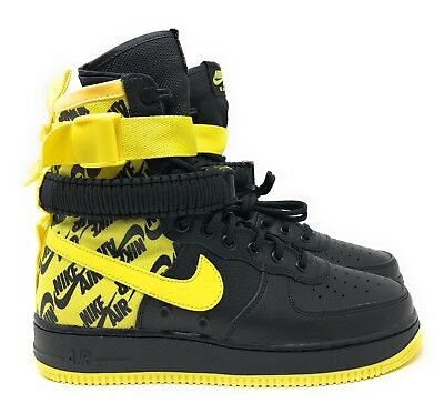 NIKE SF AF1 Air Force One High Dynamic Yellow Black Men s SZ (AR1955 ... dff8b00d3