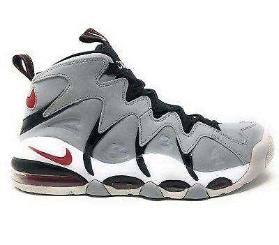 16864645bcd Nike Air Max CB34 Wolf Grey Red White Charles Barkley ( 414243-003 ) Size