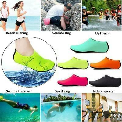Unisex Adult Water Shoes Aqua Socks Diving Sock Pool Beach Swim Slip On Surf UK
