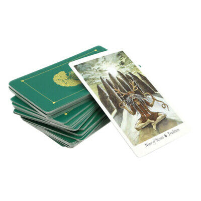78pcs  103*60mm Tarot Cards Deck English Mysterious Animal Playing Board Game