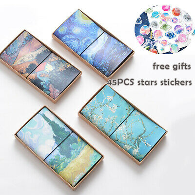 Portable Notebook Journal Travel Diary Notepad Office Student Drawing Notebooks