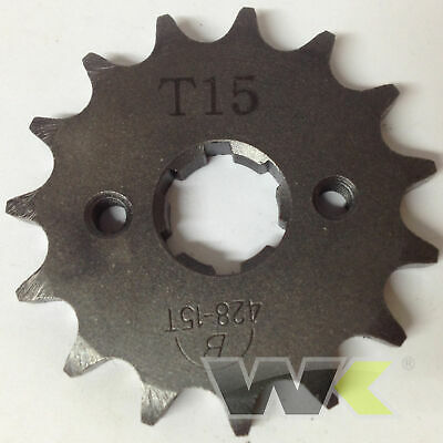 Genuine WK White Knuckle Bikes Trail 125 Front Drive Sprocket 15T Tooth