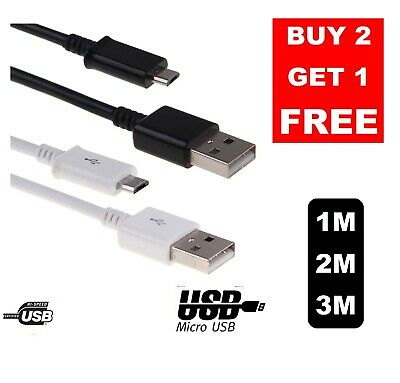 1m USB Micro FAST Data Charger SAMSUNG Galaxy Edge Cable Amazon Android B1002