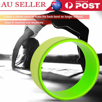 Yoga Wheel Muscle Relaxing&Fitness-Extra Strength Health Comfortable Gym Prop