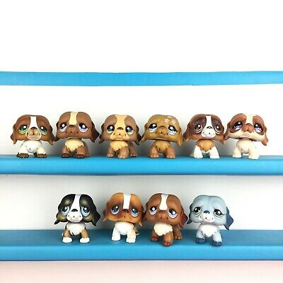 Lot 10 Littlest Pet Shop 335 688 1940 481 229 1118 145 Saint St Bernard Dog LPS