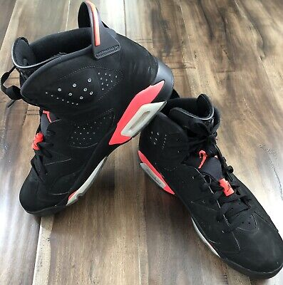 bf8b1799363f Air Jordan 6 Nike Retro Infrared Black 2014 Sz 13 Mens Sneakers Shoes