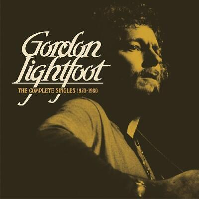 The Complete Singles 1970-1980 by Gordon Lightfoot Audio CD Discs 2 Real Gone