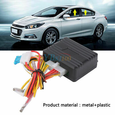 12V Universal Auto Automatic Power Window Roll Up Closer Module for 2 Door Car