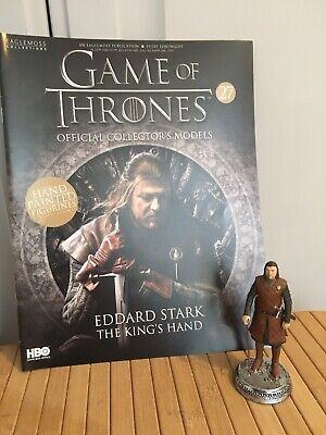 Game Of Thrones Issue 27 Eddard Ned Stark Eaglemoss Action Figure Collectables
