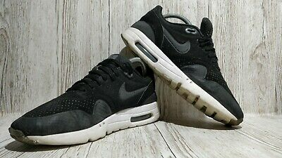 MEN'S NIKE AIR Max 1 Ultra Moire Hyperfuse Black Trainers Uk