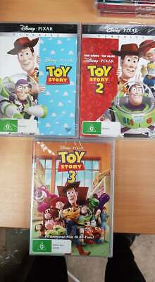 Toy Story 1, 2 & 3 [New & Sealed] DVD - Region 4