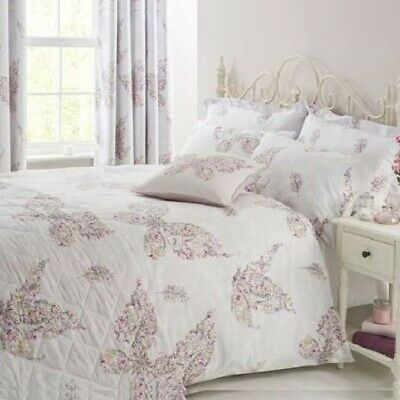 023cbc0f3fe Brand New Floral Butterfly Pink Reversible Duvet Cover and Pillowcase Set