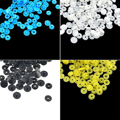 100 Set KAM 4 COLORS PLASTIC RESIN SNAPS BUTTON FASTENERS PRESS STUD POPPERS