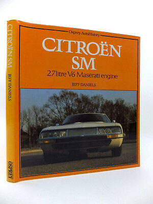 CITROEN SM - 2.7 Litre V6 Maserati engine - Volume raro, come nuovo