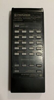 Remote Control Unit CU-GR001 for Pioneer Graphic Equalizer GR-777 ( P )