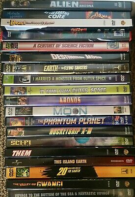 SCI-FI Movies ~ Your Choice - Only $2 each - Discount shipping for multiple DVDs