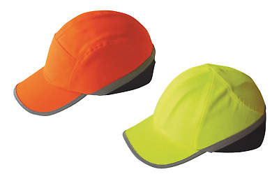 Portwest Hi Vis Work Safety Bump Cap Head Protection Hard Hat Baseball Cap PW79