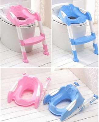 Kids Toilet Potty Pee Training Seat Baby Toddler Trainer Urinal Step Ladder