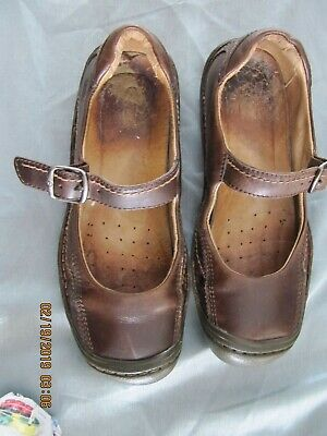 42a01e2ff687 KEEN 53011-POSL Womens EUR 39 US 8.5 Brown Leather Mary Janes Flats Shoes