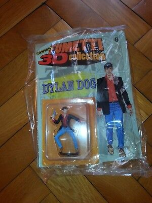 Fumetti 3D Collection 2010 Statuina In Blister Con Fascicolo N. 6 Dylan Dog