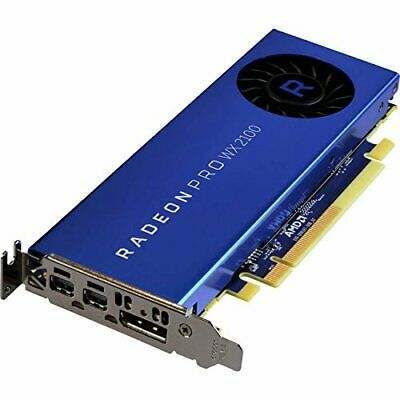 AMD Radeon PRO WX 2100 Graphic Card 2048 MB