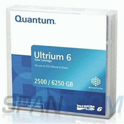 Quantum Data Cartridge LTO6Ultrium Media 2.56,25tb