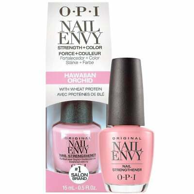 OPI Nail Envy Hawaiian Orchid Nail Strengther 15ml with Wheat Protein & Calcium