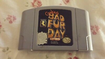 Conkers bad fur day Nintendo 64 Authentic