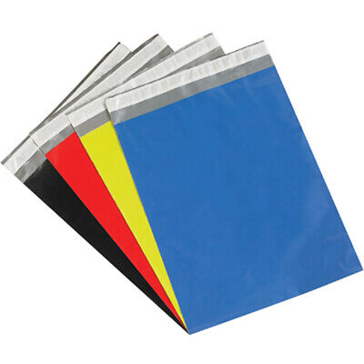 Poly Mailers Plastic Envelopes Shipping Bags iSupplyUSA 2.5 Mil Colored Premium