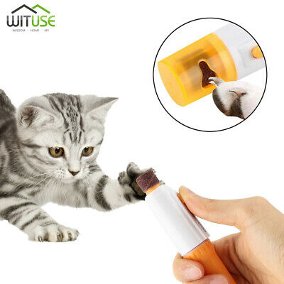 Pet Dog Cat Nail Grinder Trimmer Electric Claw Toe Grooming Painless Clipper 28