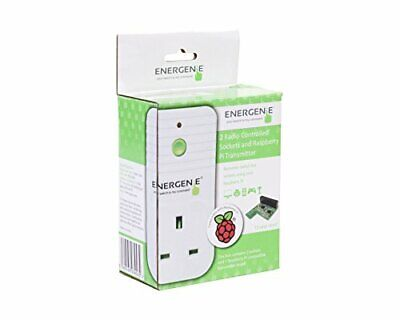 Energenie ENER002-2PI remote control sockets with Raspberry Pi controller board